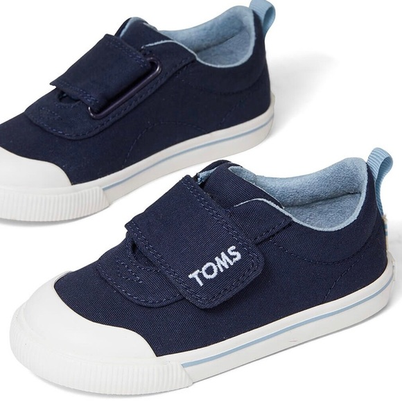 Toms Other - 🆕 TOMS Doheny Sneakers Navy Canvas NWOB sz 11